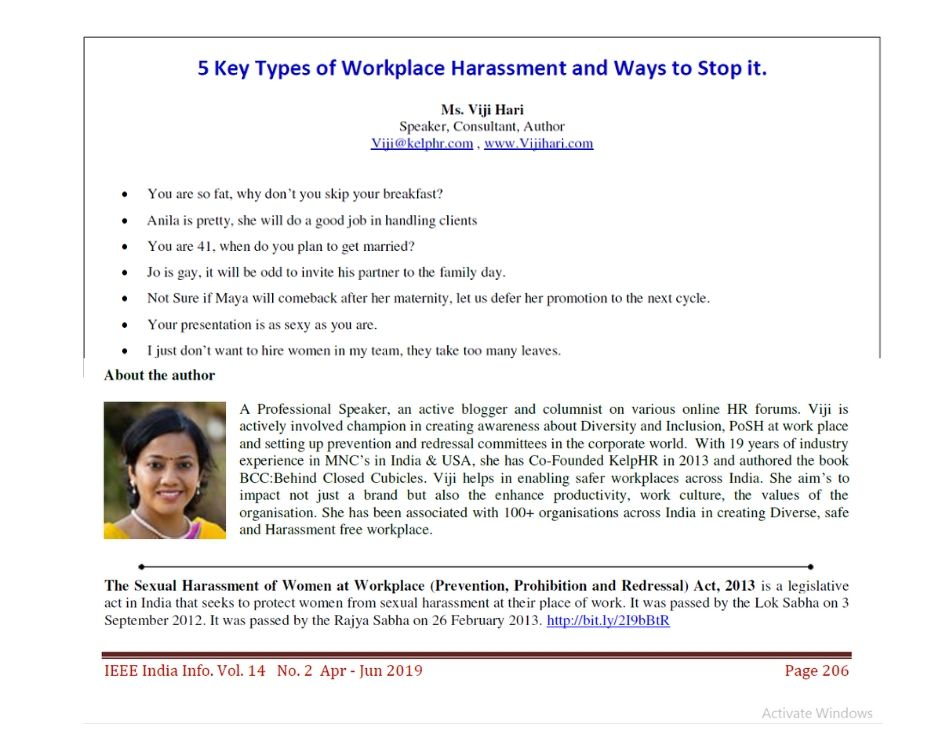 5 Key Types of Workplace Harassment and Ways to Stop it