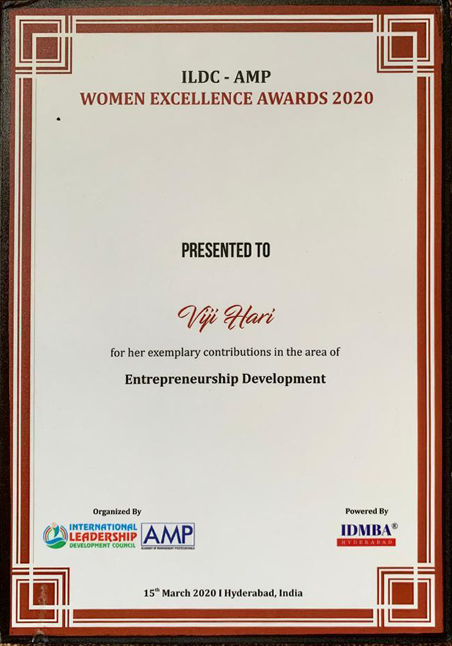 ILDC Women's Excellence Award 2020